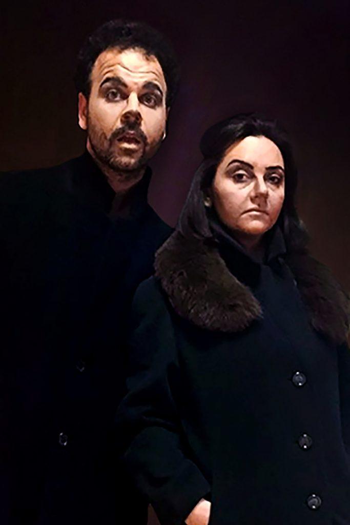 """Gennaro Maresca e Roberta De Pasquale in """"La Volpe e il Gatto"""""""